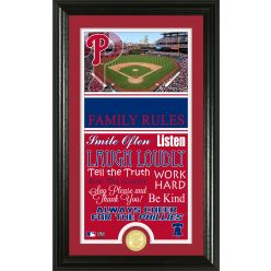 Personalized Philadelphia Phillies House Rules Photo Mint