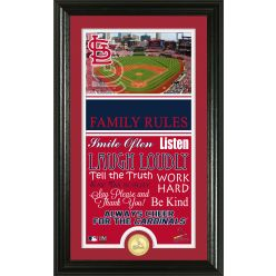 Personalized St Louis Cardinals House Rules Photo Mint