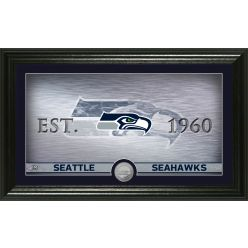Seattle Seahawks Personalized Man Cave Minted Coin Photo Mint