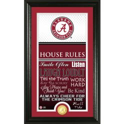 University of Alabama Personalized House Rules Photo Mint