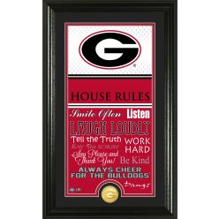 University of Georgia Personalized House Rules Photo Mint