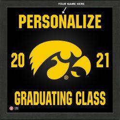 University of Iowa Personalized 2021 Graduation Pride Photo Mint