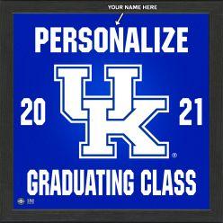 University of Kentucky Personalized 2021 Graduation Pride Photo Mint