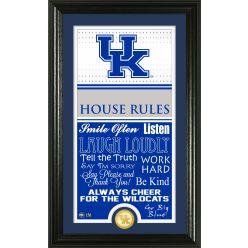 University of Kentucky Basketball Personalized House Rules Photo Mint