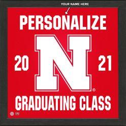 University of Nebraska Personalized 2021 Graduation Pride Photo Mint