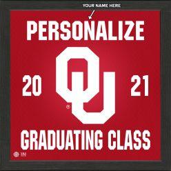 University of Oklahoma Personalized 2021 Graduation Pride Photo Mint