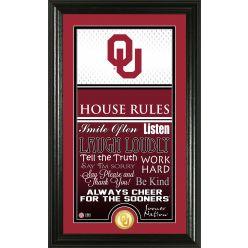 University of Oklahoma Personalized House Rules Photo Mint