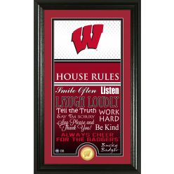 University of Wisconsin Personalized House Rules Photo Mint