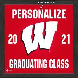 University of Wisconsin Personalized 2021 Graduation Pride Photo Mint