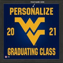 West Virginia University Personalized 2021 Graduation Pride Photo Mint