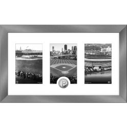 Pittsburgh Pirates Panoramic Art Deco Silver Coin Photo Mint