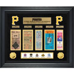 Pittsburgh Pirates World Series Deluxe Gold Coin & Ticket Collection