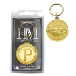 Pittsburgh Pirates Bronze Team Keychain