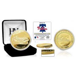 "Philadelphia Phillies ""Stadium"" Gold Mint Coin"