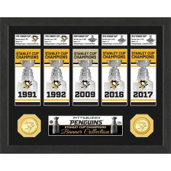 Pittsburgh Penguins Stanley Cup Championship Banner Collection