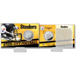 Pittsburgh Steelers 2020 Team History Coin Card