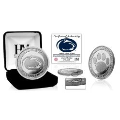 Penn State University Nittany Lions Silver Mint Coin