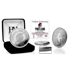 Portland Trail Blazers Silver Mint Coin