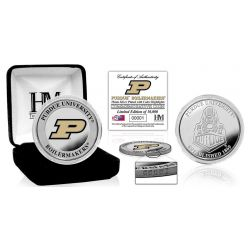 Purdue University Color Silver Coin