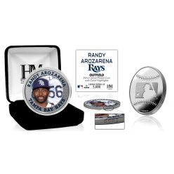 Randy Arozarena Silver Mint Coin