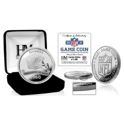 Las Vegas Raiders 2021 Silver Game Coin