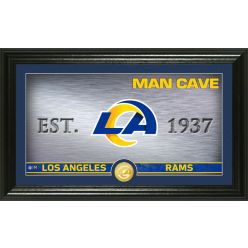 Los Angeles Rams Personalized Man Cave Bronze Coin Photo Mint