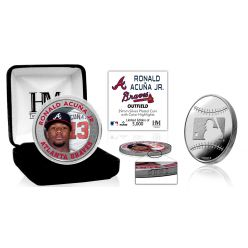 Ronald Acuna Jr Silver Mint Coin