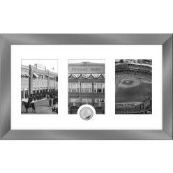 Boston Red Sox Panoramic Art Deco Silver Coin Photo Mint