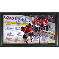 "Chicago Blackhawks 2015 Stanley Cup Champions ""Celebration"" Signature Rink"