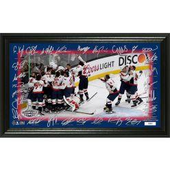 "Washington Capitals 2018 Stanley Cup Champions ""Celebration"" Signature Rink"