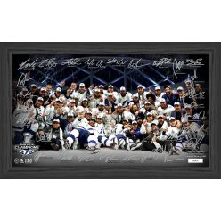 Tampa Bay Lightning 2020 Stanley Cup Champions Signature Rink