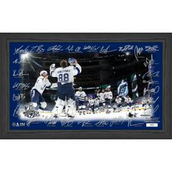 "Tampa Bay Lightning 2020 Stanley Cup Champions ""Celebration"" Signature Rink"