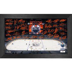 Edmonton Oilers 2021 Signature Rink