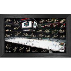 Minnesota Wild 2021 Signature Rink