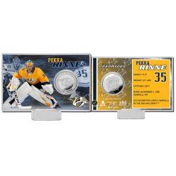 Pekka Rinne Silver Coin Card