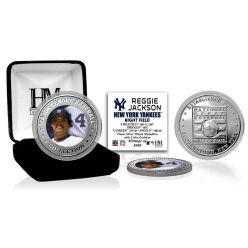 Reggie Jackson Baseball Hall of Fame Silver Color Coin