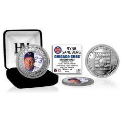 Ryne Sandberg Baseball Hall of Fame Silver Color Coin