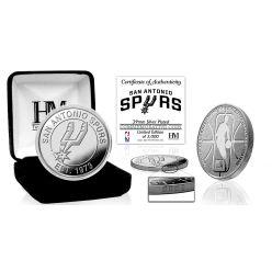 San Antonio Spurs Silver Mint Coin