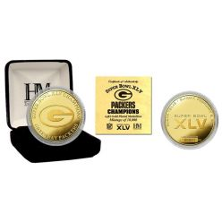 Super Bowl XLV Champions 24KT Gold Coin