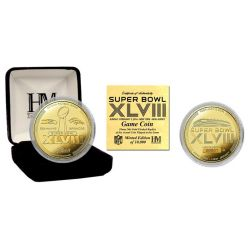 Super Bowl 48 Gold Flip Coin