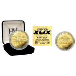 Super Bowl 49 Gold Flip Coin