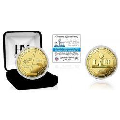 Super Bowl 52 Gold Flip Coin