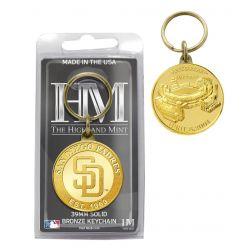 San Diego Padres Coin Keychain