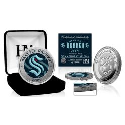 Seattle Kraken Inaugural Season Silver Mint Coin