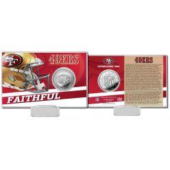 San Francisco 49ers 2020 Team History Coin Card