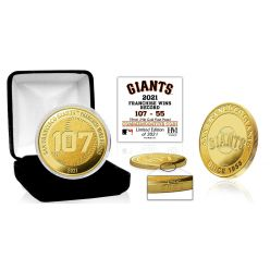 San Francisco Giants Franchise Wins Record Gold Mint Coin