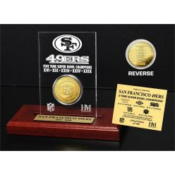 San Francisco 49ers 5x SB Champs Etched Acrylic