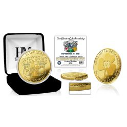 Wisconsin vs. Notre Dame 2021 Shamrock Series Gold Mint Coin