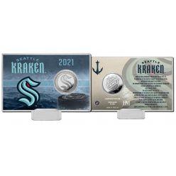 Seattle Kraken Inaugural Season Coin Card