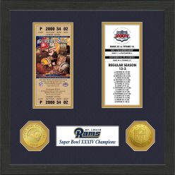 St.Louis Rams SB Championship Ticket Collection
